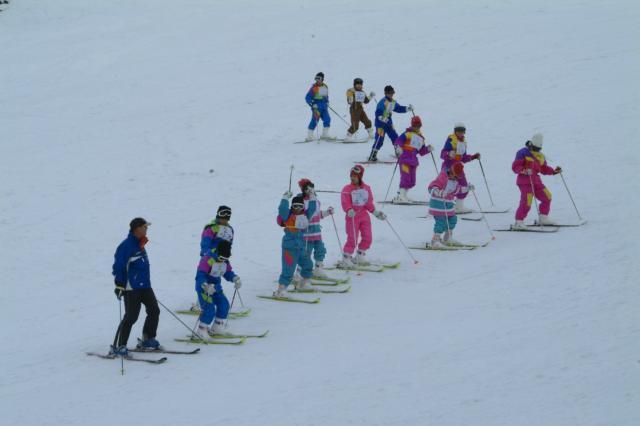 はじめてのスキー教室