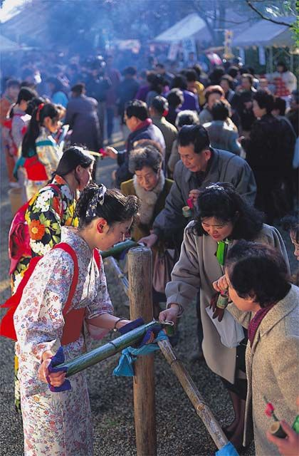 光仁会(癌封じささ酒祭り)