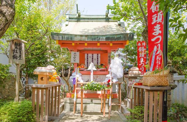 林神社例大祭「饅頭まつり」
