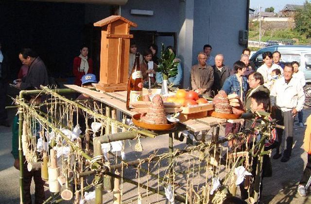 高田の暴れ亥の子祭