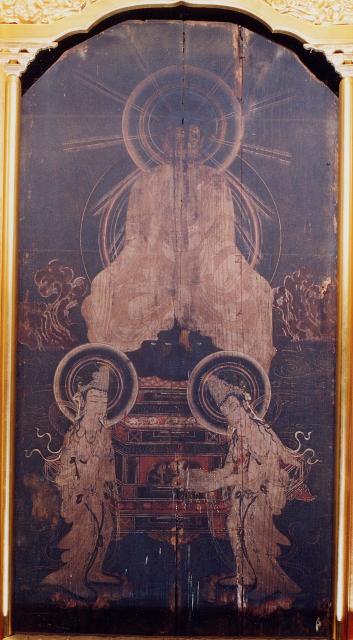 福応寺の板仏