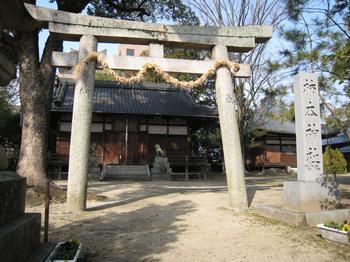 柿本神社(奈良県葛城市)