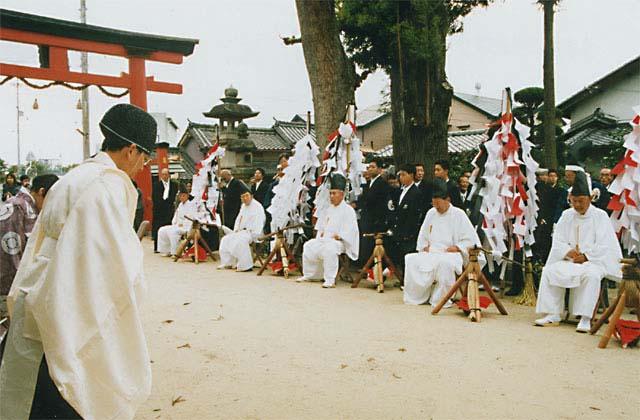 糸井神社の秋祭り