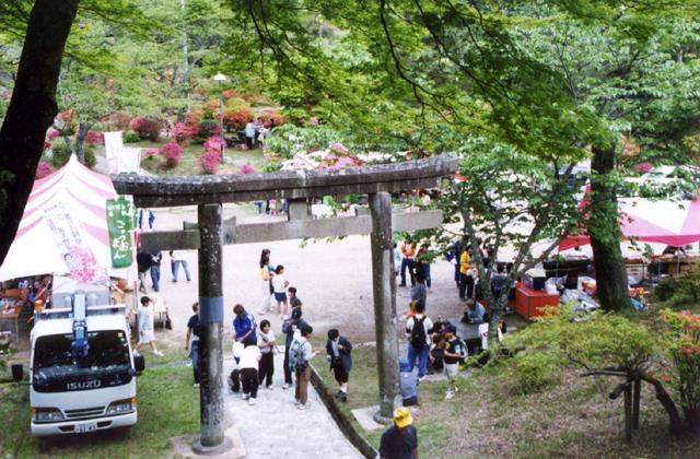 鳥見山公園つつじ祭り