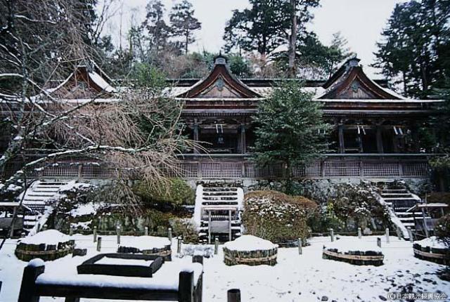 吉野水分神社(並列句)
