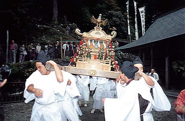 玉置神社「秋季大祭」