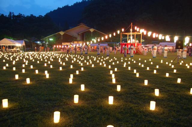十津川村夏祭り「昴の郷ふれあい物語」