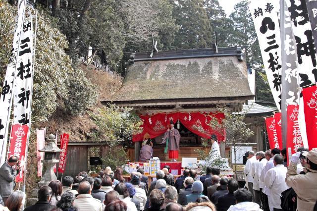 玉置神社 「初午祭」