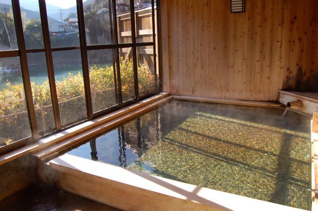 十津川温泉「庵の湯」
