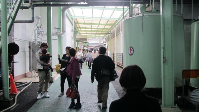 中野BC株式会社酒蔵見学