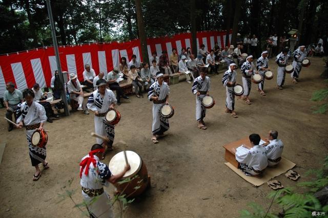 嵯峨谷の神踊り
