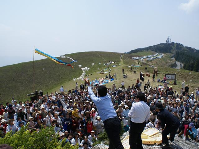 【2021年中止】生石高原山開き