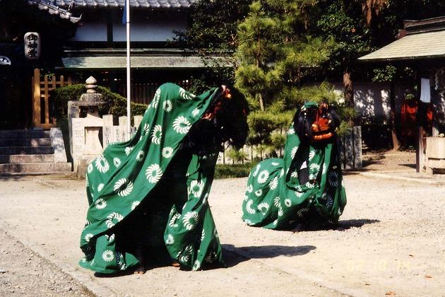 東田中神社獅子神楽会