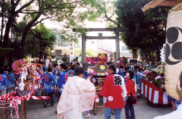 大宮祭(よみさし祭)