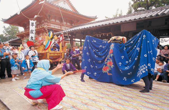 広八幡神社の秋祭り