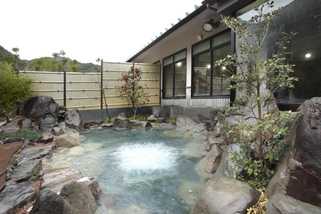瀧原溫泉螢火蟲的熱水