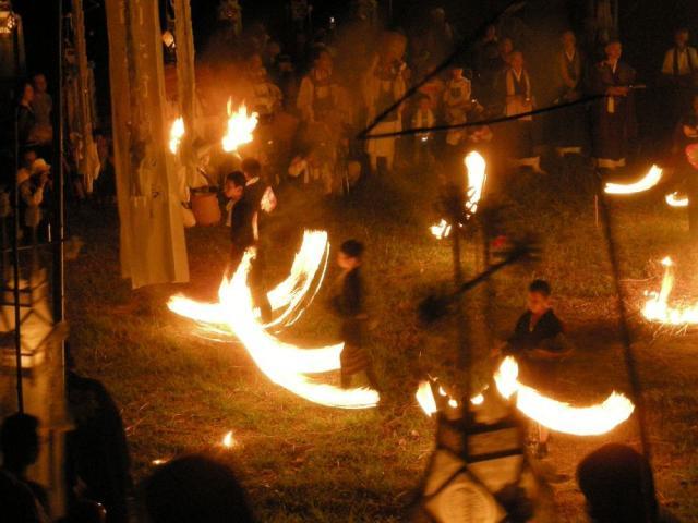 興国寺火祭り