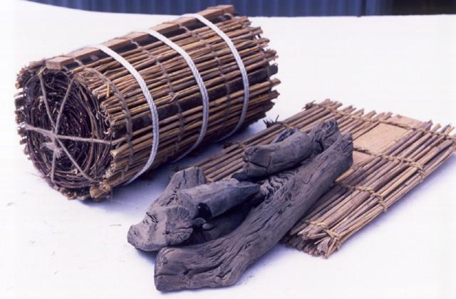 紀州詳細的長木炭