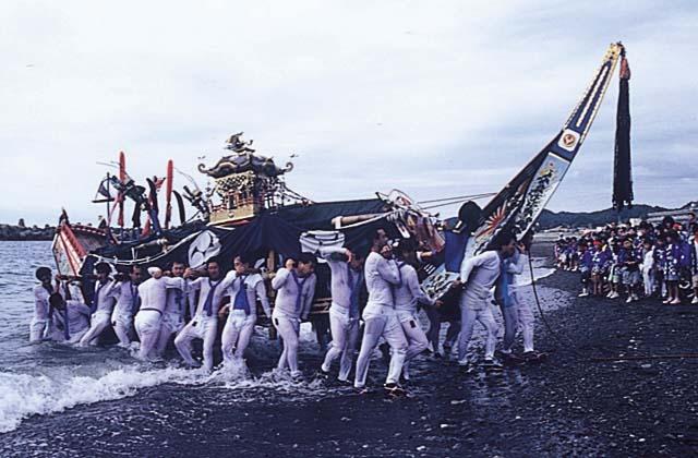 日ノ出神社祭(御舟祭)