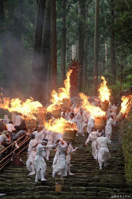 那智の扇祭り(那智の火祭り)