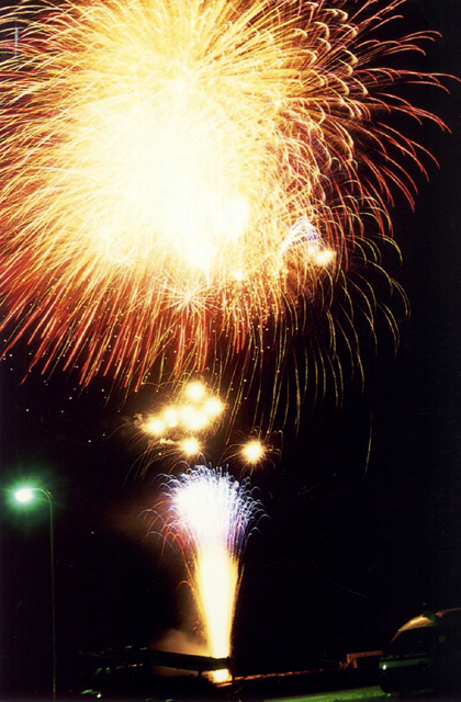 Whale Festival and Bon Memorial Service Fireworks Display★30422ba2210141028