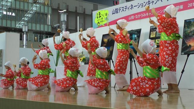 湯かむり唄踊り1