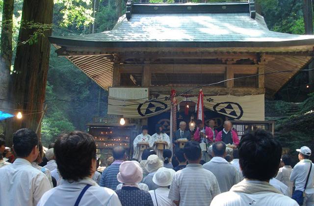 因州若桜弁天大祭