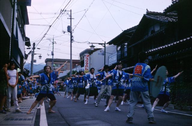 三角山神社夏祭り(お山さん)