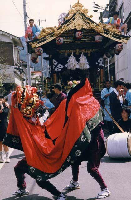 城山神社祭礼