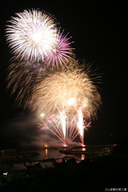 恵比須祭宵祭りの納涼花火大会