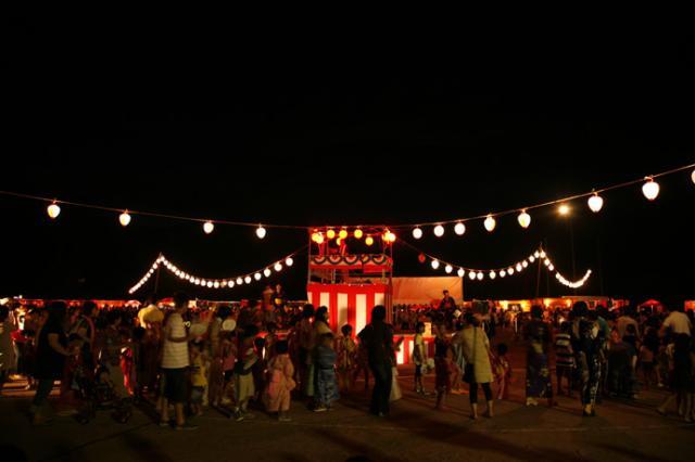 きしもと豊年盆踊り花火大会