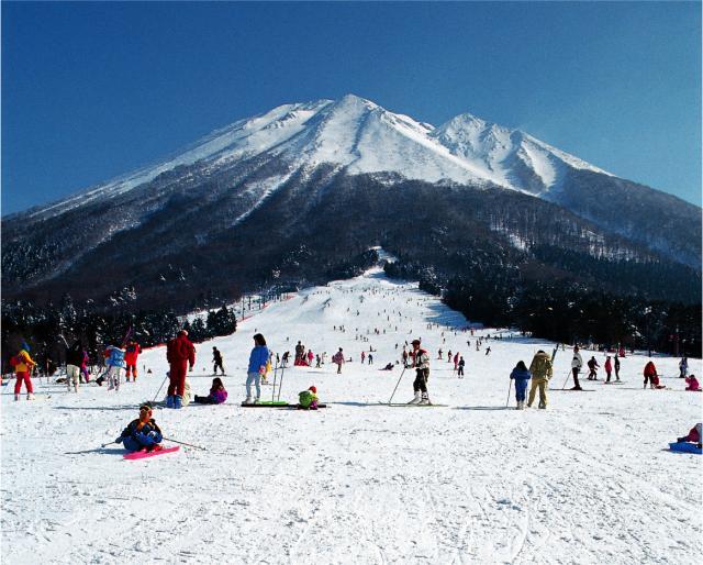 桝水高原スキー場開き祭