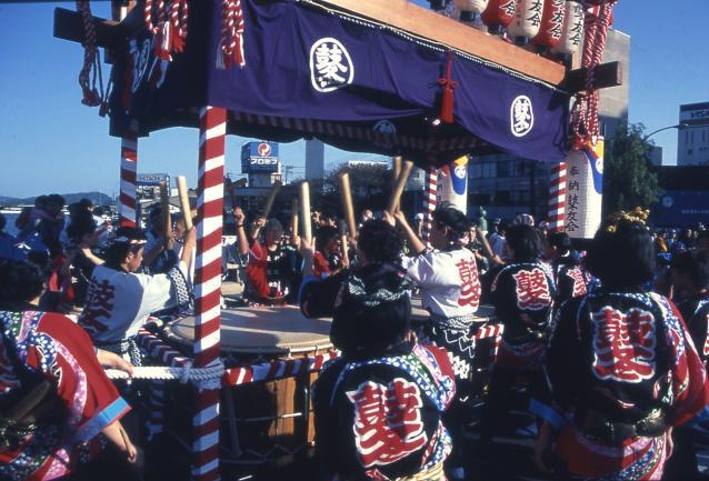 Matsue annual Festival drum procession★32201ba2210113110