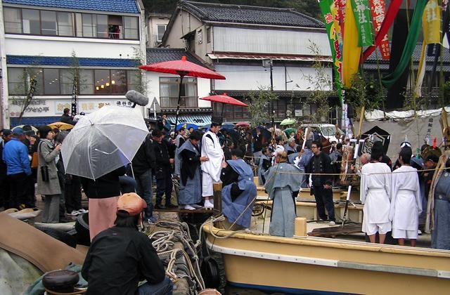 青柴垣神事本祭