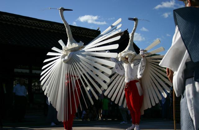 津和野祇園祭(鷺舞神事)