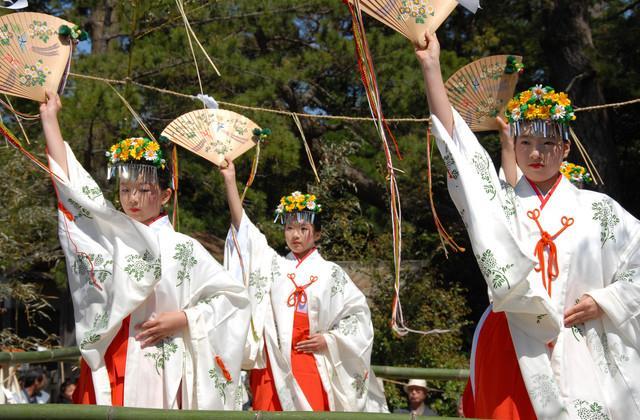 水若酢神社 祭礼風流