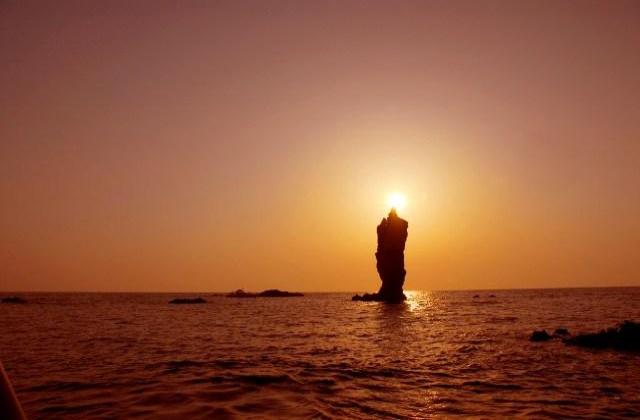 ローソク島遊覧船