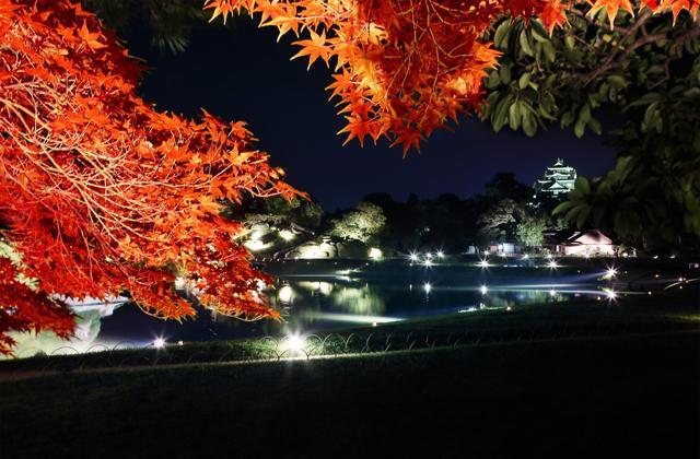 秋天的幻想庭園
