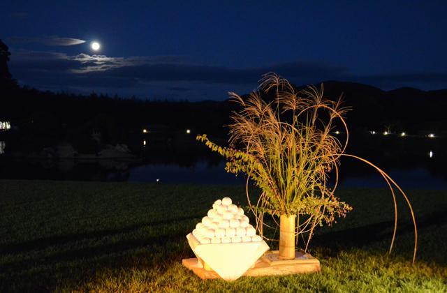 Harvest moon viewing in the Korakuen garden★33201ba2212054994