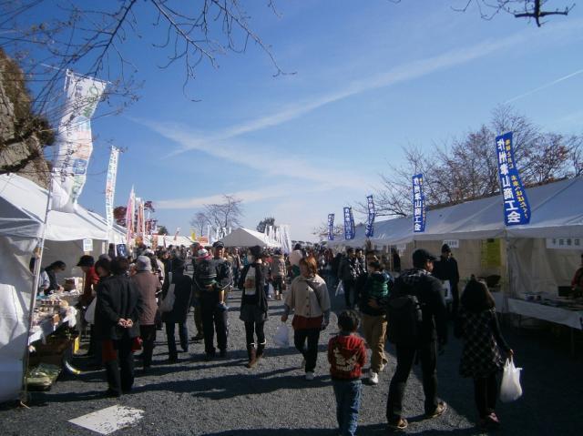 秋の津山城ご当地グルメフェスティバル