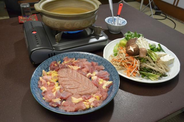 ケンケン(きじ)鍋