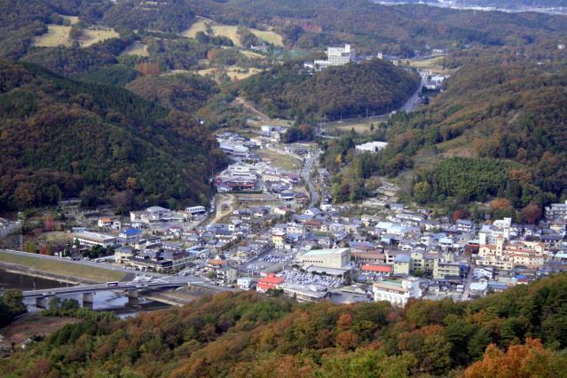 大山瞭望台(紫陽花道路)