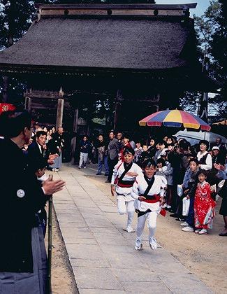 吉川八幡宮当番祭