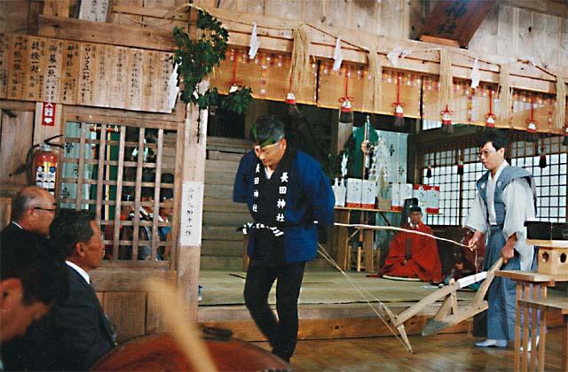 長田神社のお田植祭