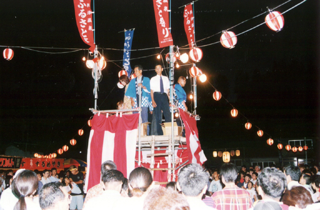 奥津温泉夏祭り