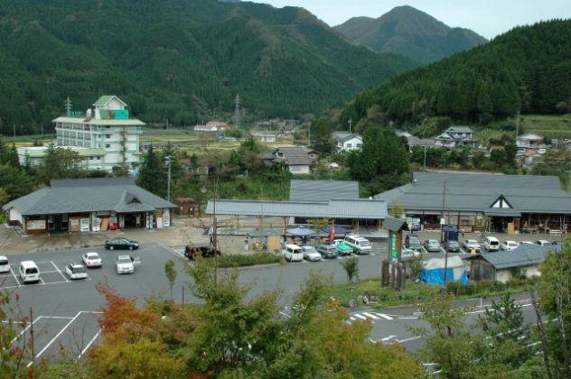 道の駅 奥津温泉