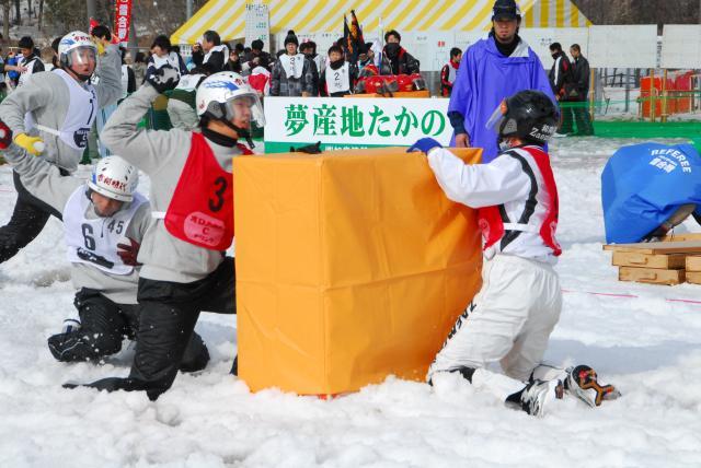 打雪仗hiroshima in高野