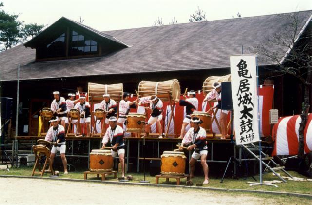 亀居城太鼓