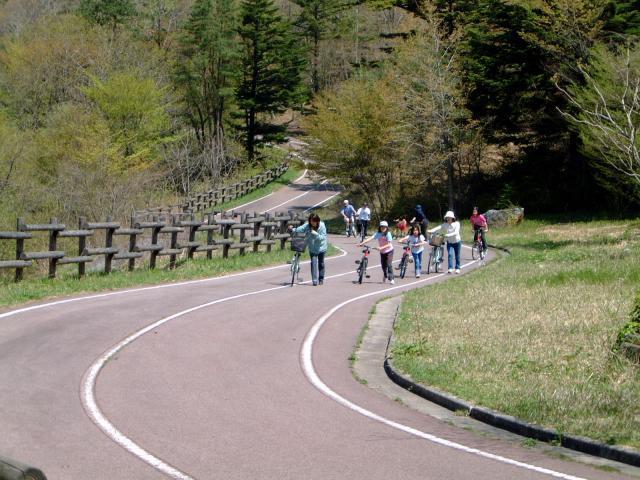 もみのき森林公園サイクリングコース