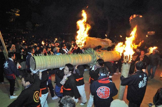 鎮火祭(広島県廿日市市)